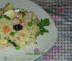 Insalata di riso - ricetta estiva   cucina preDiletta