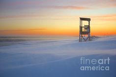 """Standing in the bitter cold with the wind whipping, I paused for a moment, caught my breath, and watched the """"Snow Smoke"""" dance around Smugglers Beach after the latest blizzard~ it was amazing! Photo by Julie Bryant  #blizzard #snowsmoke #sunset #visitma #tourist #travel #massachusetts #winter #capecodlife #capecod"""
