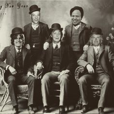 The boys in the band--from Rusty's FB page