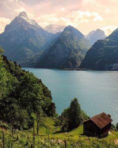"Flüelen, Switzerland Senai Senna (@sennarelax) on Instagram: ""Uri - Switzerland #Switzerland_Vacations """