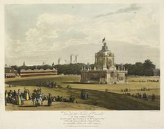 Temple of Concord. Green Park. 1814Twitter / BLMaps: Temple of Concord in Green ...