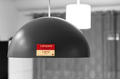 Lámpara en Inglés = Lamp in Spanish
