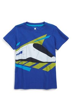 3a6bcd4d2 Tea Collection 'Carlo's Train' Graphic T-Shirt (Toddler Boys & Little