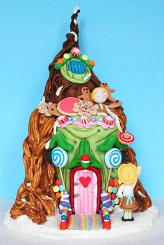 "HANSEL & GRETEL for ""Bake a Christmas Wish"" - Cake by ManBakesCake"