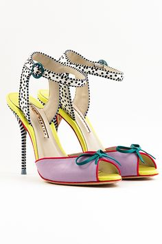 Do You Dare To Wear These Sophia Webster Stunners? #refinery29  http://www.refinery29.com/sophia-webster#slide10