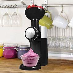 Csavaros fagylaltkészítő gép