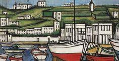 Το ελληνικό καλοκαίρι στον καμβά διάσημων ζωγράφων Neo Expressionism, Rene Magritte, Time Painting, Landscape Artwork, Greek Art, Purple Backgrounds, Beach Landscape, French Art, Drawing Techniques