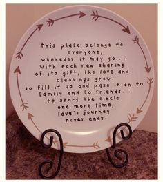 Giving Plate Style 3 by 282Studio on Etsy