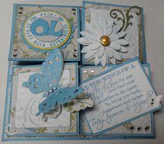 Awesome tutorial on Jenni Dix blog a Quad Easle Card Tutorial