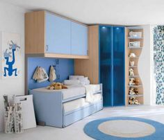 Love the cabinets above bed...must do in guest room!!!