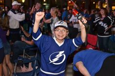 Coolest little Fan! Super excited to see the win! Stanley Cup Finals, Super Excited, Lightning, Captain Hat, Fan, Sports, Hs Sports, Lightning Storms, Hand Fan