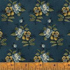 Hanna Wallis, c. 1840 quilt, Windham Fabrics, reproduction fabric