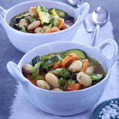 Bohneneintopf mit Zucchini Rezept