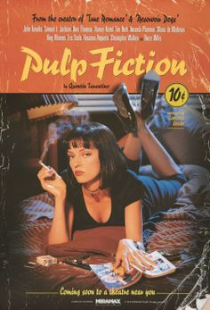 PULP FICTION my favorite movie of all time oh so good