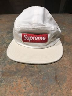 a33fa07553ee4 Supreme 2-Tone Camp Cap White  fashion  clothing  shoes  accessories