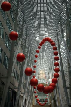 Sfere in Polistirolo - Spiral Ball Sculpture - Toronto
