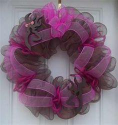 Browning Deer wreath
