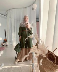 Modest Fashion Hijab, Stylish Hijab, Niqab Fashion, Modern Hijab Fashion, Casual Hijab Outfit, Hijab Fashion Inspiration, Ootd Hijab, Hijab Chic, Muslim Fashion