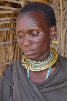 Africa |  Datonga Tribe in Tanzania.  Photo credit Rita Willaert.