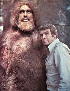 ... six million dollar man and bigfoot!  One of my all-time favorite episodes of any show evah!!!