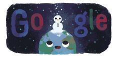 Winter 2019 (Northern Hemisphere) Date: December 22 2019 Location: Global Tags: December Solstice, Winter Solstice, Seasons Of The Year, Days Of The Year, Camilla Amaral, The Doodler, 21 Juni, Google Doodles, December 22