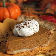 "Grandma's Pumpkin Pie (recipe) - ""Turns out my Grandma's famous pumpkin pie was made from the recipe that Libby's had been putting on their pumpkin cans since the 1950's."""