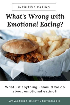 Wondering what to do about emotional eating? The solution might be unexpected - and emotional eating itself may not be so bad Smart Nutrition, Nutrition Guide, Nutrition Plans, Healthy Nutrition, Whole Food Diet, Whole Food Recipes, Eating Disorder Recovery, Stop Eating, Clean Eating