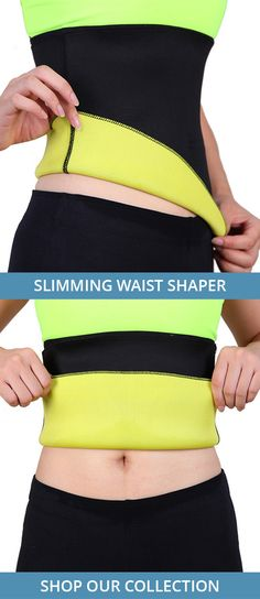 1b717675a790e The Slimming Waist Shapers are made with thermal material that promotes  weight loss and size reduction