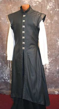skirted doublet  Male costume