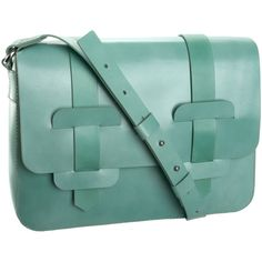 Mint Green Orla Kiely Rosemary Satchel. Oh, my ovaries, can I marry this?