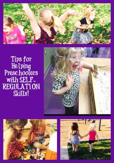 Tips for Helping Preschoolers with Self-Regulation Skills! | The Preschool Toolbox Blog
