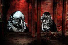 James Kalinda & Centina. Abandoned places.  www.nicolagatti.net