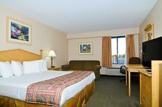 Business or leisure travelers will enjoy our king guestroom.