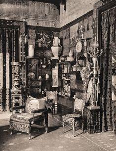 640 Fifth Ave. Japanese Gallery in William H. Vanderbilt's Mansion.