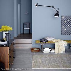 GroBartig Schöner Wohnen Farbe: Warmes Pastellblau Aus Der Farbkollektion U2013 Für  Schöne Wandgestaltung. #waterfront