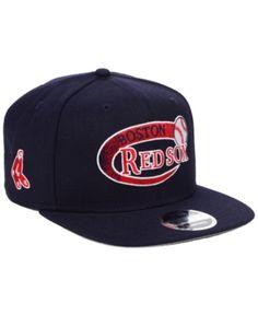 buy online c9608 ef256 New Era Boston Red Sox Swoop 9FIFTY Snapback Cap - Navy Navy Adjustable
