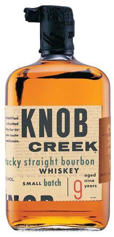 N.1 - Knob Creek 9yr Small Batch Kentucky Straight Bourbon Whiskey