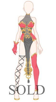 Belongs to: quaazera What can I do with an Adoptable Outfit? Use it for your OC (Own Character)Use it for a game/website (Commercial Project) Use it as a Cosplay Outfit or just sewing it Rules: The...