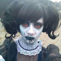 Creepy girl