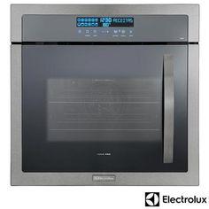 Forno Elétrico de Embutir Home Pro 80 Litros Inox OE9ST22089 - 220V + Micro-ondas de Embutir 28 Litros Inox MB38X - 220V a partir de Fast Shop
