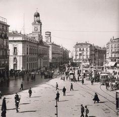 Descrizione: Madrid, Puerta del Sol Anno: 1906