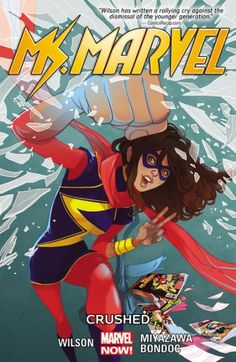 Love is in the air in Jersey City as Valentine's Day arrives! Kamala Khan may not be allowed to go to the school dance...but Ms. Marvel is! Well sort of - by...