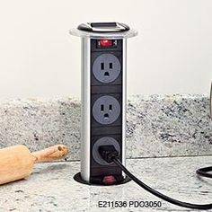 Kitchen Power Grommet, YES!! - Click image to find more Home Decor Pinterest pins