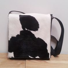 Cowhide Leather Messenger Bag Each Piece Is Handmade And Cut With A Unique Pattern Showcasing The Beauty Of New Zealand