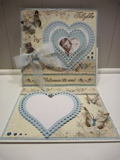 Kaia's side Paper Art, Decorative Boxes, Arts And Crafts, Stamp, Scrapbook, Invitations, Group, Projects, Baby