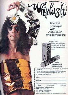 To go with your Avril Lavigne eyeshadow.