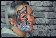 Airbrush, Tattoos, Body Art, Carnival, Halloween Face Makeup, Kids Makeup, Bodypainting, Mardi Gras, Tatuajes
