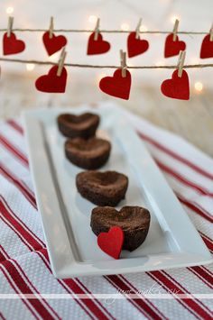 Brownies baked with love (December 2013 Pinner: @Stefanie W Hartman)
