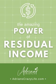 Residual income can be many things - it can be interest income from a savings account, small royalties or dividend payments from creative work or investments, or even rental fees from income property. Best Money Saving Tips, Saving Money, Debt Snowball Spreadsheet, College Tuition, Income Property, Investment Tips, Show Me The Money, Money Savers, Get Out Of Debt