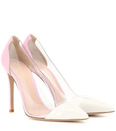 mytheresa.com - Plexi patent leather and transparent pumps - Luxury Fashion for Women / Designer clothing, shoes, bags